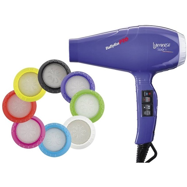 Sèche Cheveux Luminoso Violet