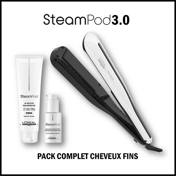 Pack Steampod Lisseur...