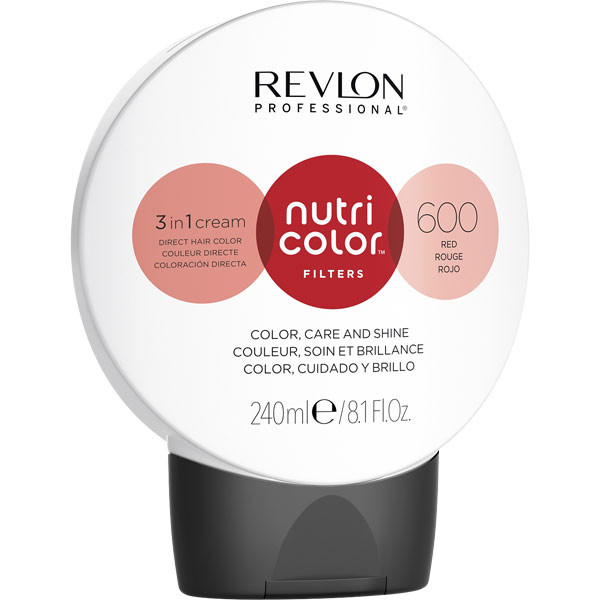 Nutri Color 600 Rouge 240 ml
