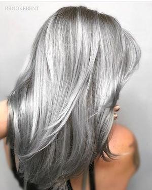 cheveux gris. Black Bedroom Furniture Sets. Home Design Ideas