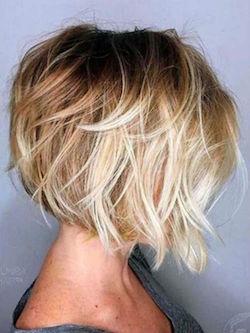 Carre Plongeant Coupe De Cheveux