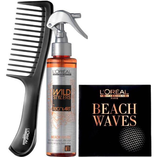 beach waves coiffure