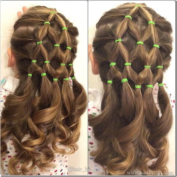 coiffure sapin