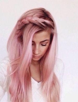 Coloration cheveux reflets rose