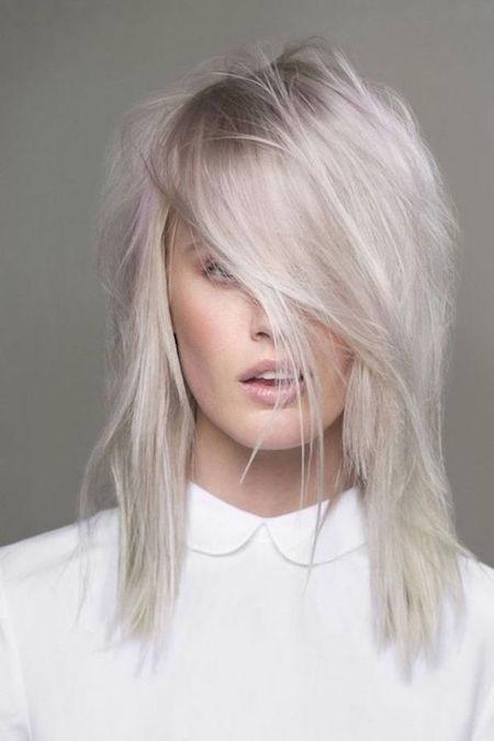 cheveux fins blond blanc - Coloration Blond Blanc