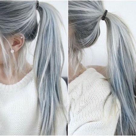 Couleur Cheveux Gris Blond