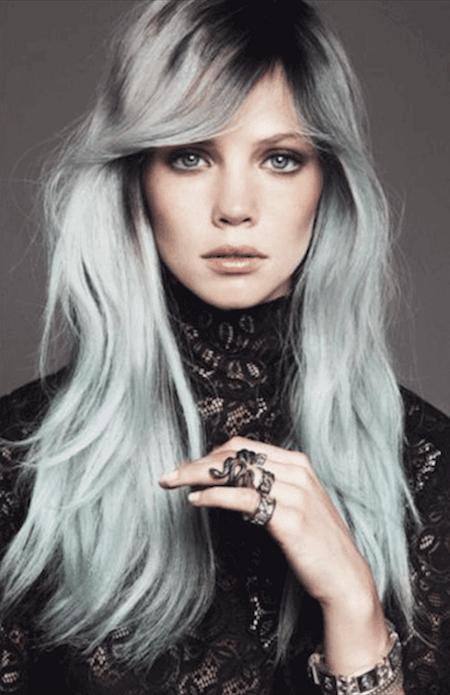 blond gris - Coloration Blond Blanc