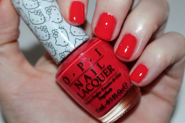 OPI rouge Hello Kitty