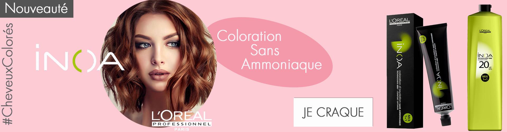 coloration longue durée avec inoa l'oréal professionnel le moins cher