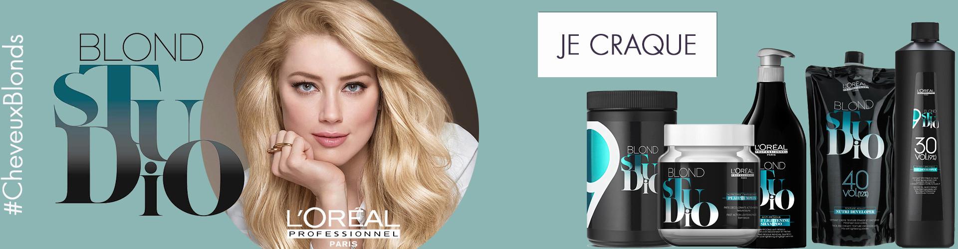 blond studio par l'Oréal Professionnel, produit technique pour devenir blonde